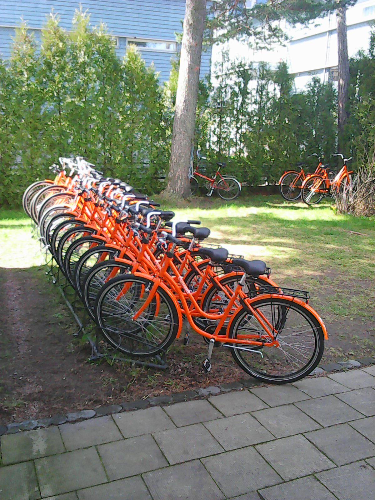hyra cykel