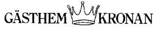 Gästhem Kronan Logo